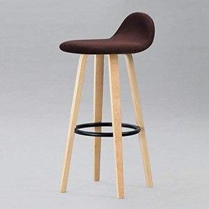 WENYA Chaises / tabourets, Barserelle à bois massif, Bar Chaise Restaurant Chair Retro Tabouret High Tabouret, Tabouret à domicile pour adultes, N ° 2   Code de marchandises: LJW-1438 ( Color : #3 )