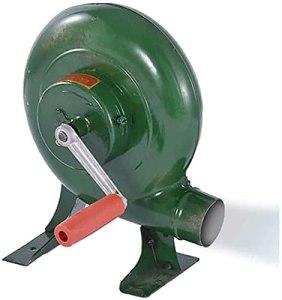 Y DWAYNE Manivelle Forgeron Forge Souffleur Fer Gear Popcorn Fan Manual Fan,Cuisson Manual BBQ Air Blower,200W