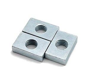 YGGFA Noix carrée de 700pcs GB39 M3 M4 M5 M5 M6 pour Accessoire de profilé d'aluminium, Assortiment de Blocs de Curseur de Curseur rectangulaire en Acier au Carbone Mince