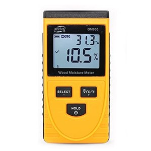 youyu6-2o521 Moissière Portable Testeur d'humidité numérique à l'humidité du Bois inductif sans endommager Le Bois Portable et précis