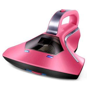 ZBJJ Mini aspirateur portatif de collecteur de poussière de Table d'UV UV sans Dispositif de Poche Anti-acariens Maison, Rose