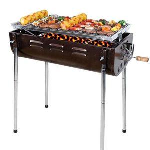 ZCxiyu Grille de Barbecue Couverture BBQ, Protection Anti-poussière Anti-poussière en Plein air, Couverture Barbecue, protège-terrasse de Jardin épaissie