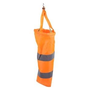 Chaussette de mesure du vent en nylon avec ceinture réfléchissante pour exploration pétrolière et aéroport 40 cm