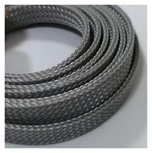 gaine isolante protection des câbles 2M 3mm – Pet de 30 mm à manches de câbles extensibles étanches tressées de haute densité de haute densité isolant ligne protéger la gaine de glande de fil protecti