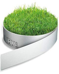 IRKA Bord de pelouse jardin 20cm x 10m x 1mm Bordure de lit Alu jardin