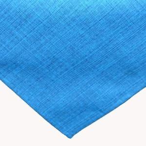 Kamaca Nappe d'extérieur pour table de jardin – La couverture textile parfaite pour l'intérieur et l'extérieur – Résistante aux taches et aux intempéries – Infroissable (turquoise – chiné, 90 x 90 cm)