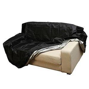 KHLRDK Housse de Banc de Jardin 2 3 4 Places, Housse de canapé de Salon Durable, Housse de siège en matériau Oxford 210D pour Accessoires de Couverture de Meubles de Patio extérieur intérieur