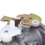 Kit de Carburateur, 799869 Carburateur de Tondeuse à Gazon Remplacer 792253 497586 499059 Nettoyeur Haute Pression pour Rotatif 14112 Oregon 50-658