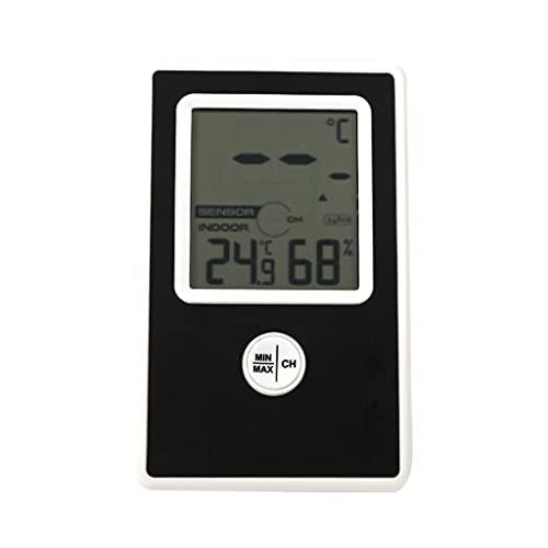 YUTRD ZCJUX Thermomètre LCD sans Fil DIFFAIRE DIFFEMENT DIMINE avec Hygromètre de la température et de l'humidité d'intérieur