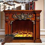 1 souffleur de cheminée d'intérieur avec sangle de suspension pour cheminée, poêle à bois, feu de camp