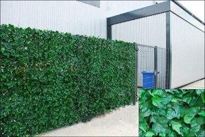 AOMOSA Haie artificielle de lierre sur rouleau – Vert – 2 x 3 m
