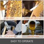 BestEquip Extracteur de miel électrique 3 cadres en acier inoxydable avec support pour apiculture