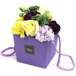 Bouquet de Fleurs de Bain – Jardin Violet