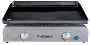 CAMPINGAZ Gaz Othello 2 X, 2 Brûleurs en Acier, Puissance 6 KW avec la Technologie Blue Flame