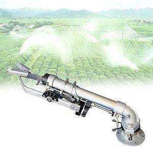 FCPLLTR Pistolet de pulvérisation Automatique à Bascule, sprinkleur de pelouse rotative, Pression de Travail: 3~8 kg, atteignité de 20~50m, Facile à Installer, pour arroser des Plantes ou des Pelo