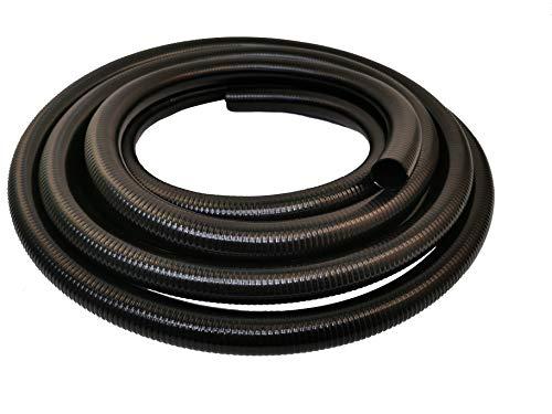HeRo24 Tuyau de bassin professionnel 50 mm Qualité supérieure 10 m Collable (PVC) Type V