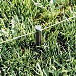 MOWHOUSE Set Piquets de Fixation pour Tondeuse Robot – Fixations du Câble de Périmètre sur Gazon – Sardines Robustes pour Définition de Surface de Jardin – 100 Pièces