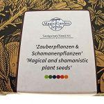 Plantes magiques et chamaniques – kit cadeau de graines avec 5 variétés ethnobotaniques