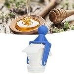 Robinet extracteur Oney, facile à utiliser et à utiliser, principe du compte-gouttes, porte à miel en plastique pour le stockage du miel