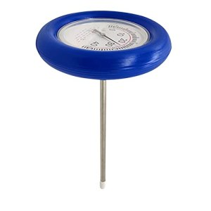 Rongchuang Thermomètre flottant pour piscine avec fil, thermomètre pointeur pour spa, jacuzzi, aquariums, bassins à poissons