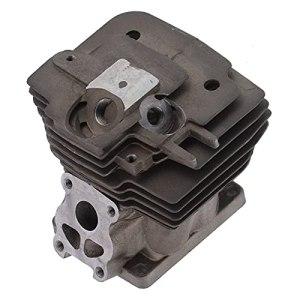Scie à chaîne, Kit de piston de cylindre Léger à haute teneur en silicium Alliage d'aluminium Résistance à l'usure Résistance à la corrosion pour l'extérieur