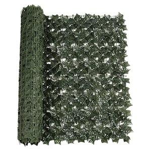 S-TROUBLE 50x300cm Simulation de haie Artificielle cryptée Plantes Vertes clôture de confidentialité Rouleau dépistage Couverture Murale décoration