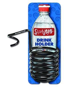 Swirlygig Sg2000II Support à boisson pour 1tube, Noir