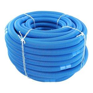 Tuyau Pour Piscine, Bleu, Ø 38 mm, Divisible tous les 158 cm, Longueur: 6,3 m