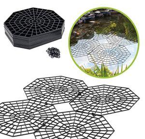 UPP grilles de Protection pour étang I Protection Bassin extérieur Contre Les Oiseaux I Protection des Poissons I par grilles 26,5 × 31,5 × 0,3 cm – Lot de 20 grilles