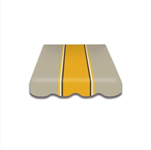 Vana deutschland GmbH Toile de rechange pour store avec volant, prêt à l'emploi, 4 m x 3 m 4 m x 3 m SPD025