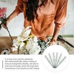 YARNOW 6Pcs Fleur À La Main Tige Faux Floral Enjeux Plantes Fleur Artificielle Stub Tige DIY Bouquet Outils pour La Maison Jardin Main Bricolage Artisanat