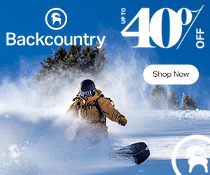 Backcountry Sale Ad