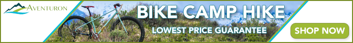 bike camp and hike gear