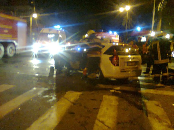 Rănit din cauza unui şofer care a adormit la volan