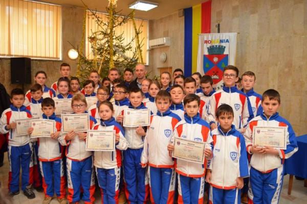 Sportivii de top ai municipiului Petroșani au fost premiați