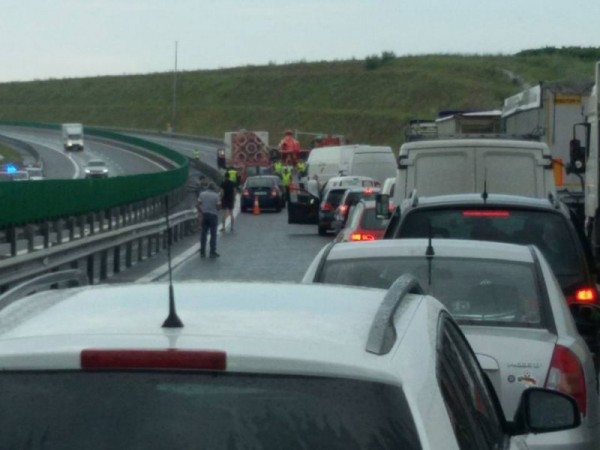 Accident rutier între Deva și Sebeș