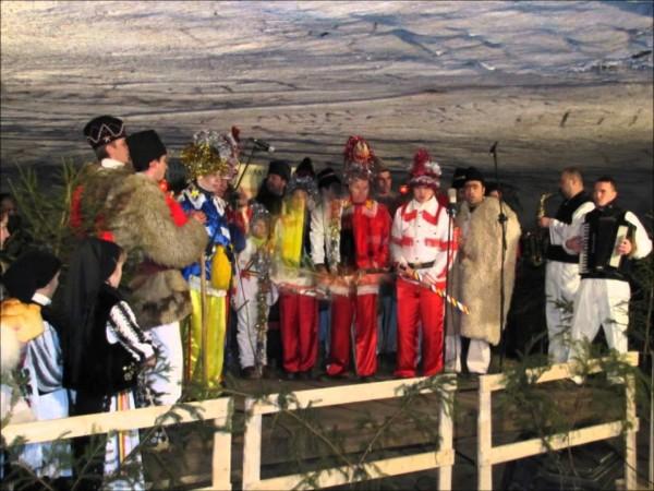 Concert de Crăciun în Peştera Bolii, Petroşani
