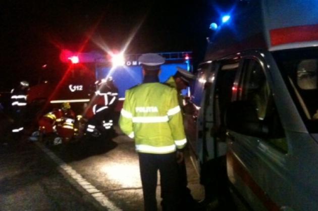 Accident grav la intrare în municipiul Vulcan