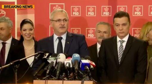ALERTĂ PSD a stabilit lista miniștrilor în Guvernul premierului desemnat Sorin Grindeanu