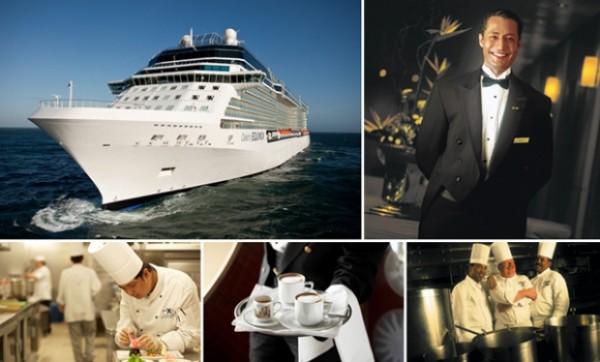 Angajări pe vase de croazieră pe salarii de la 950 dolari la 2.400 dolari lunar