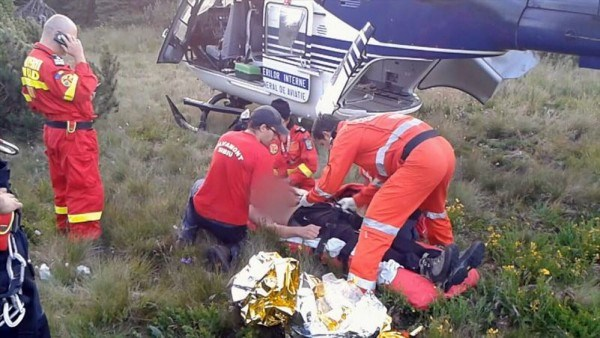 Pilot de parapantă, rănit grav la Clopotiva