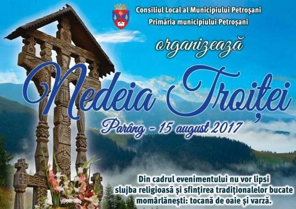 Invitație în Parâng de Sfânta Maria. Accesul cu telescaunul este astăzi gratuit