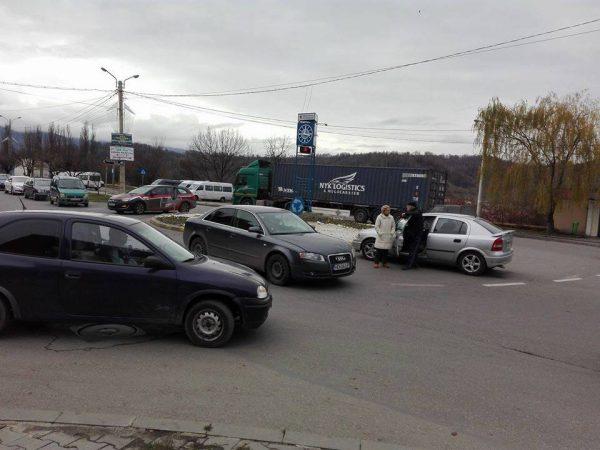 Accident  în Piaţa Victoriei din Petroşani