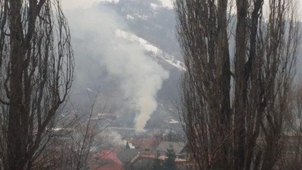 Incendiu în cartierul Colonie-Petroșani