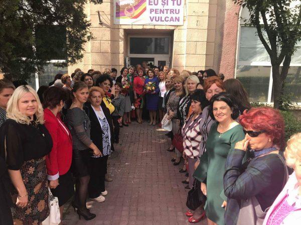 Doamnele din PSD la o întâlnire de suflet cu Rovana Plumb și Natalia Intotero