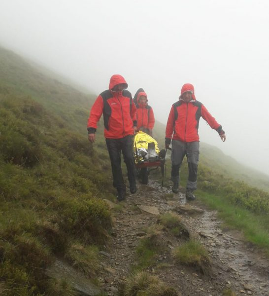 Misiune de salvare extrem de periculoasă a salvamontiştilor din Parâng
