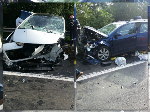Șapte răniți în urma unui accident rutier