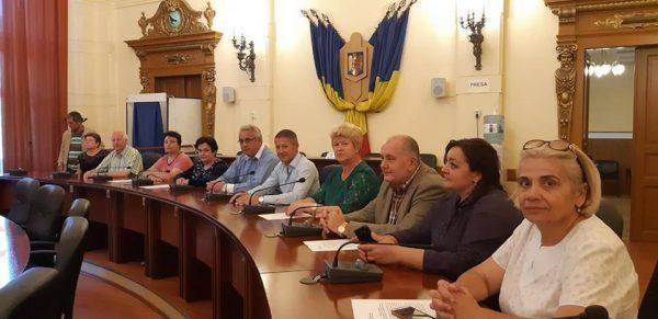 Basarabenii din Codreanca – Republica Moldova, în vizită la Consiliul Județean Hunedoara