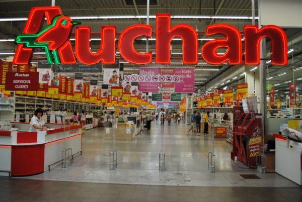 Premieră în România. Auchan a introdus plata cu degetul în magazine