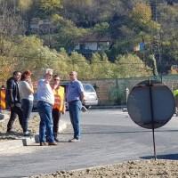 Sensul giratoriu de la Petroșani spre Petrila va fi finalizat în această lună